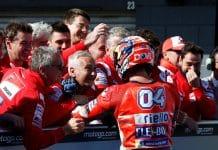 esultanza Andrea Dovizioso, Ducati