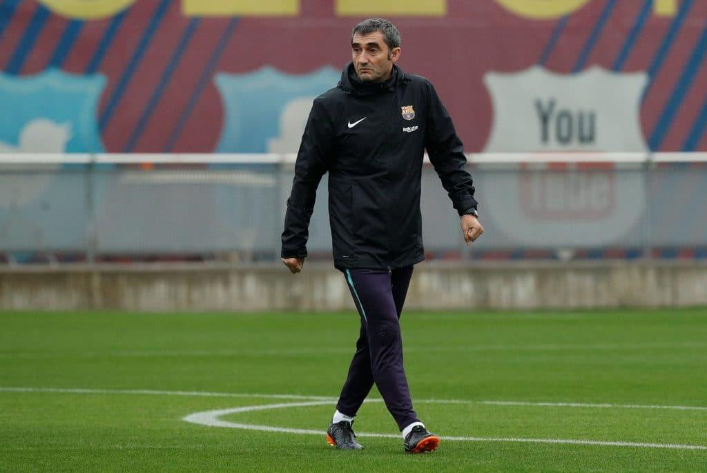 Valverde - allenatore Barcellona