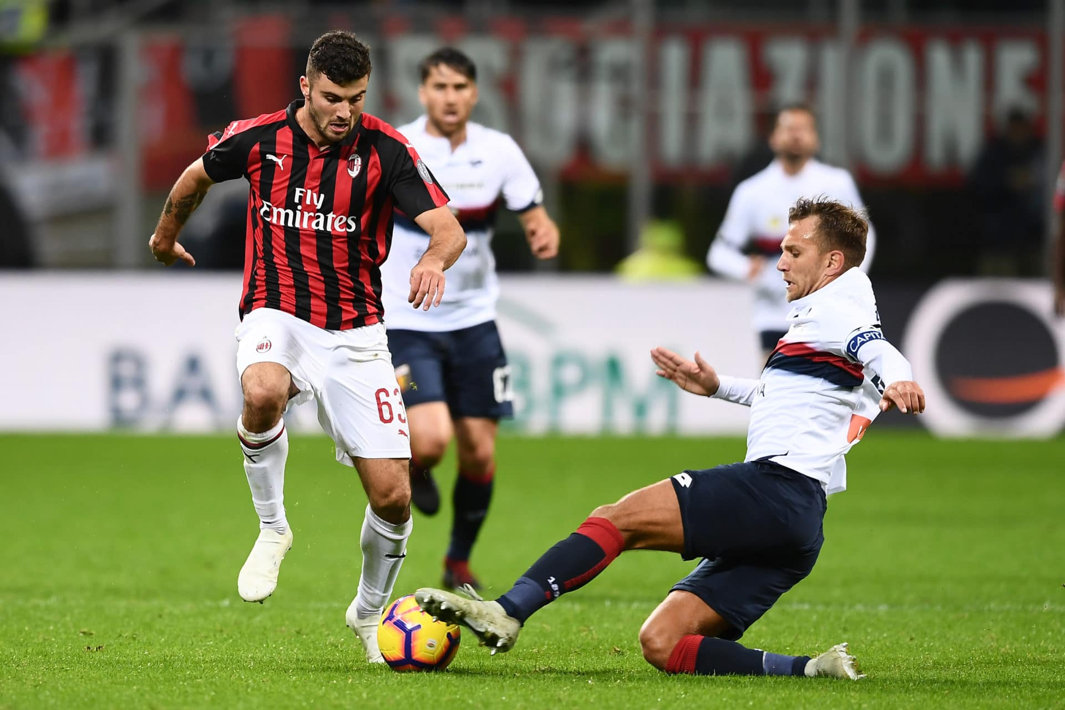 Serie A, Milan-Genoa 2-1: decide Romagnoli all'ultimo respiro