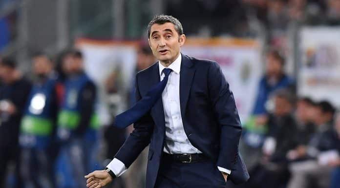 Ernesto Valverde, allenatore Barcellona