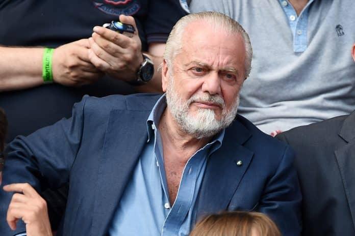 De Laurentiis, presidente Napoli