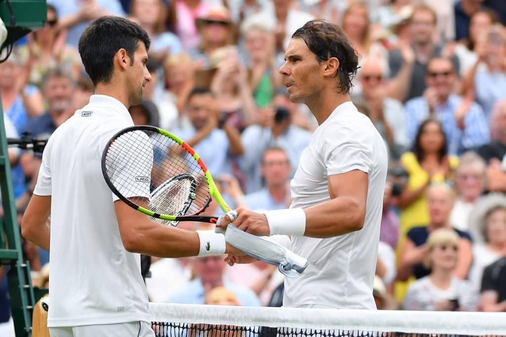 Djokovic e Nadal, Tennis