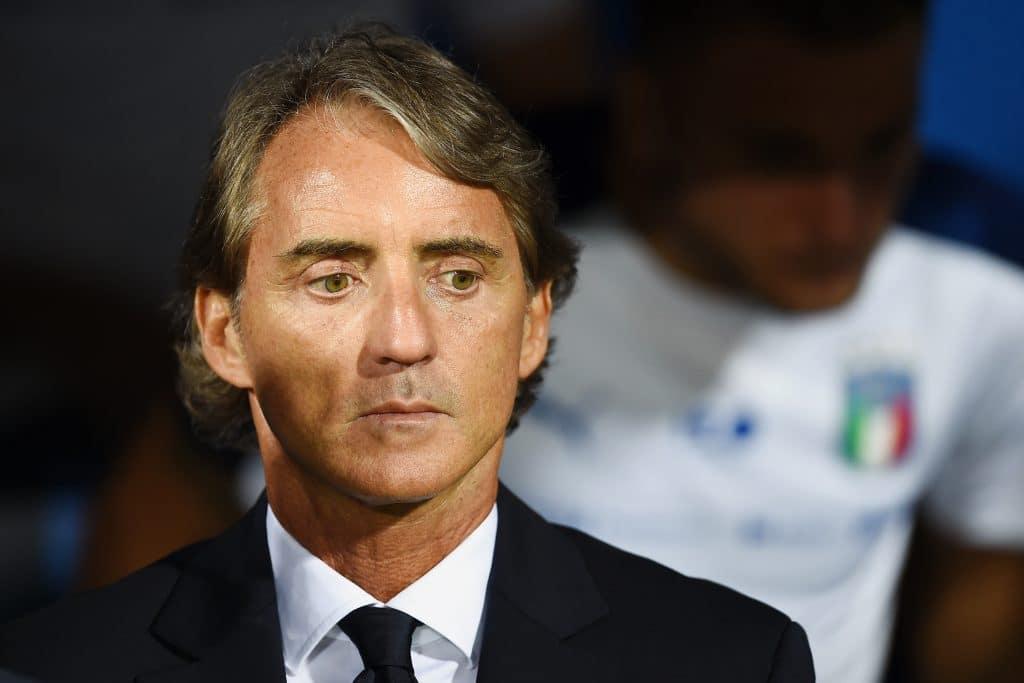 Mancini - Commissario tecnico dell'Italia