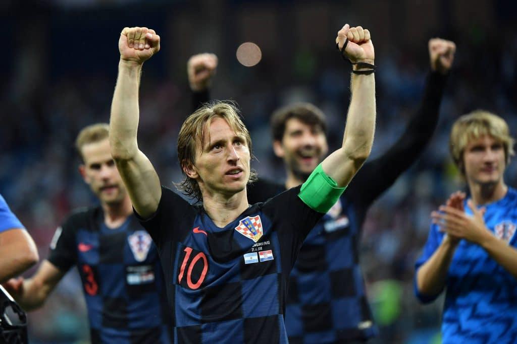 Modric - centrocampista Croazia