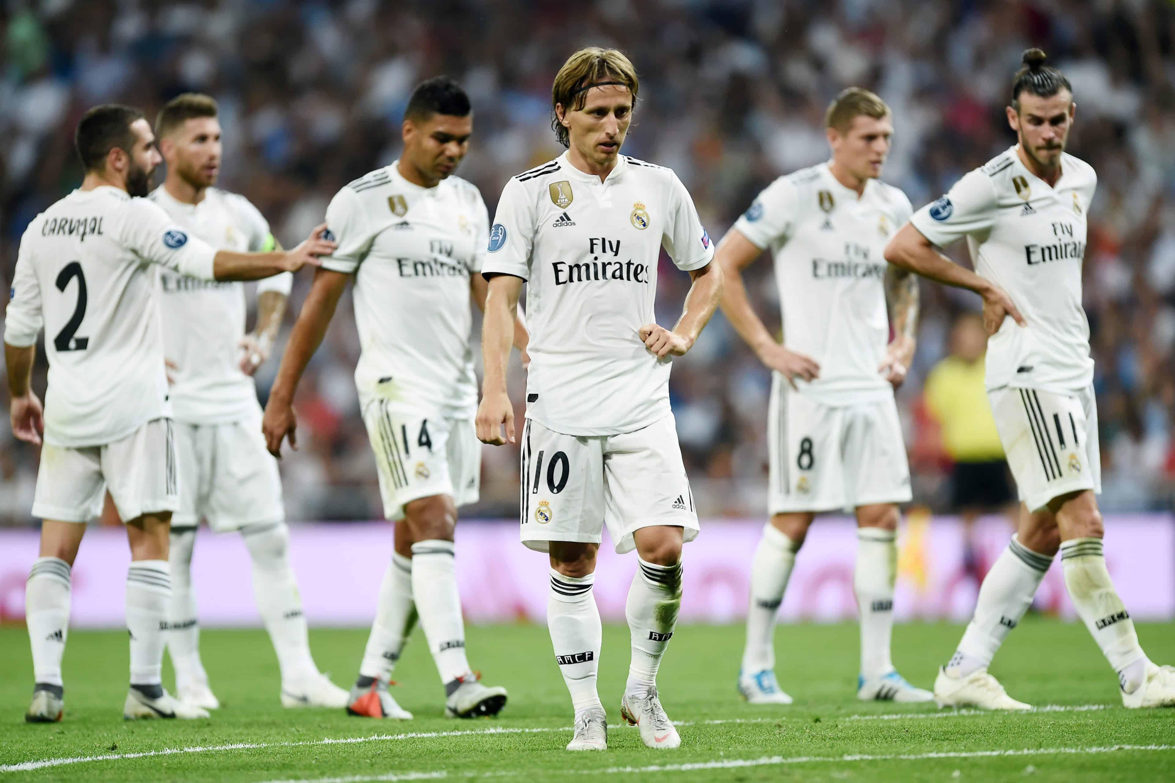 Probabili formazioni Real Madrid-Valladolid