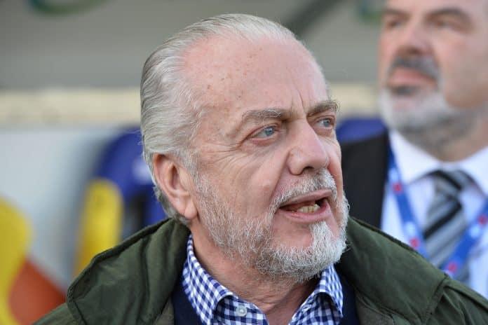 Aurelio De Laurentiis - presidente Napoli