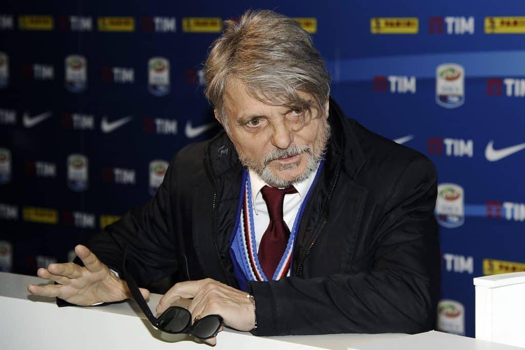 Massimo Ferrero - presidente Sampdoria