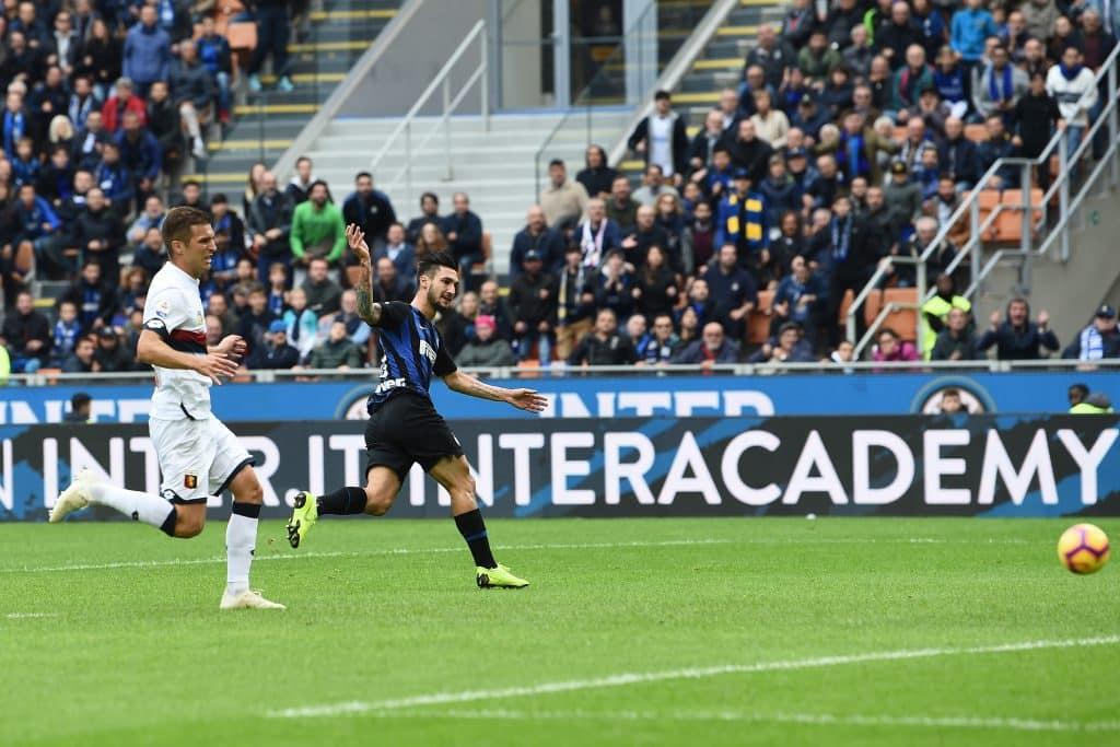 Serie A, Inter-Genoa 4-0: nerazzurri alla settima vittoria consecutiva