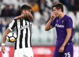 Paulo Dybala-Federico Chiesa Fiorentina-Juventus