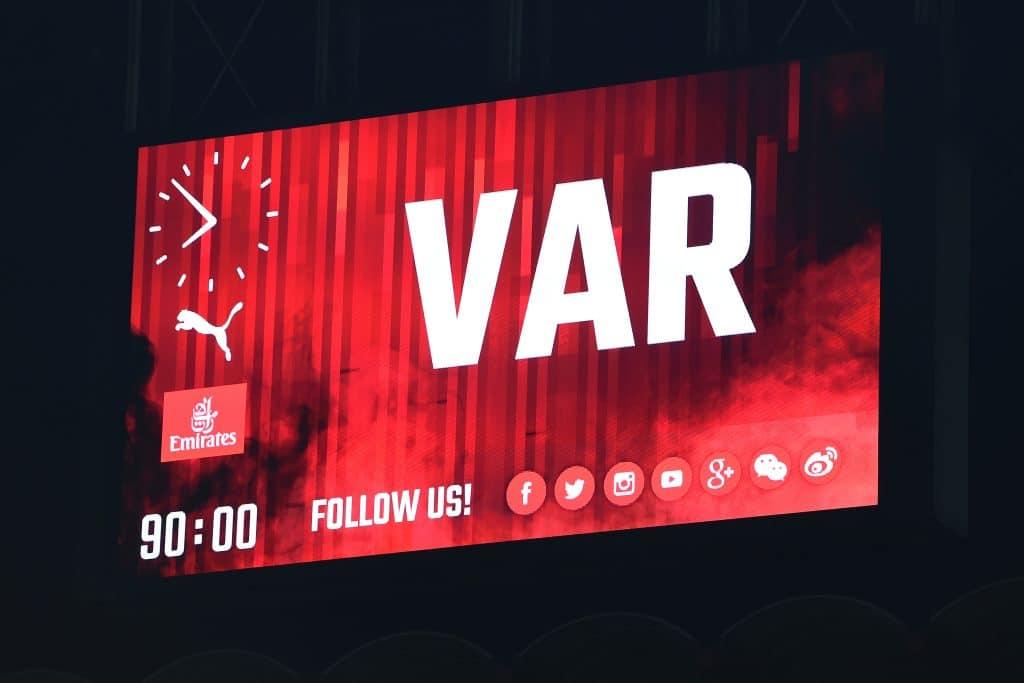 VAR tabellone - Serie A