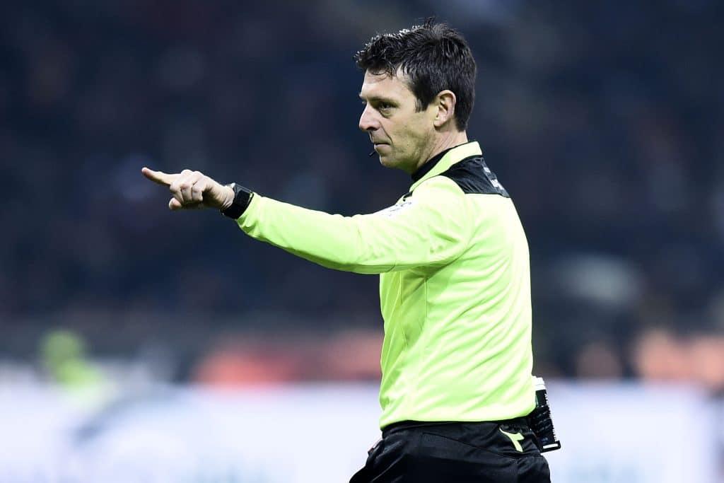Gianluca Rocchi, arbitro Serie A