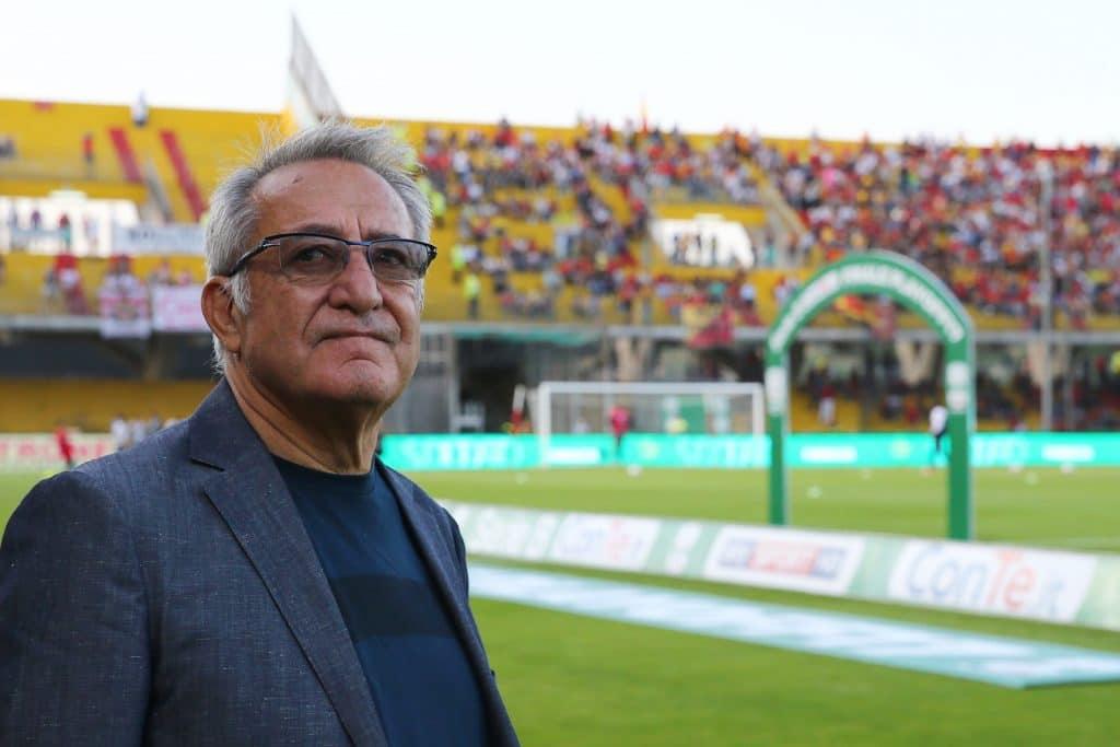Oreste Vigorito, presidente Benevento