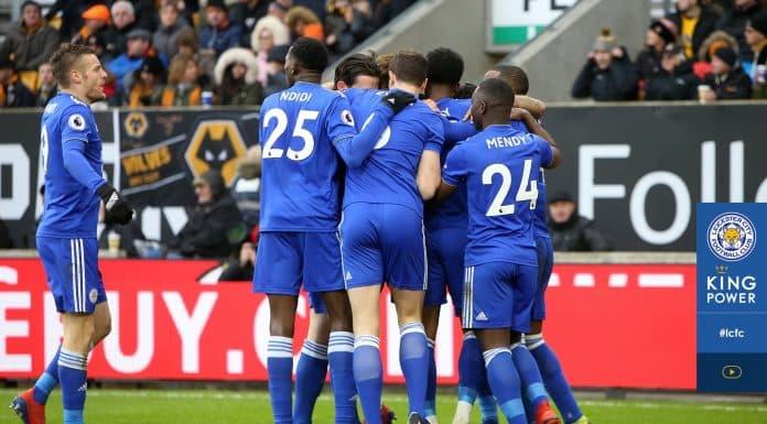 esultanza Leicester, Premier League