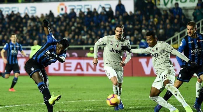 gol Zapata, Atalanta-Juventus