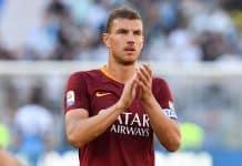 Dzeko, attaccante Roma