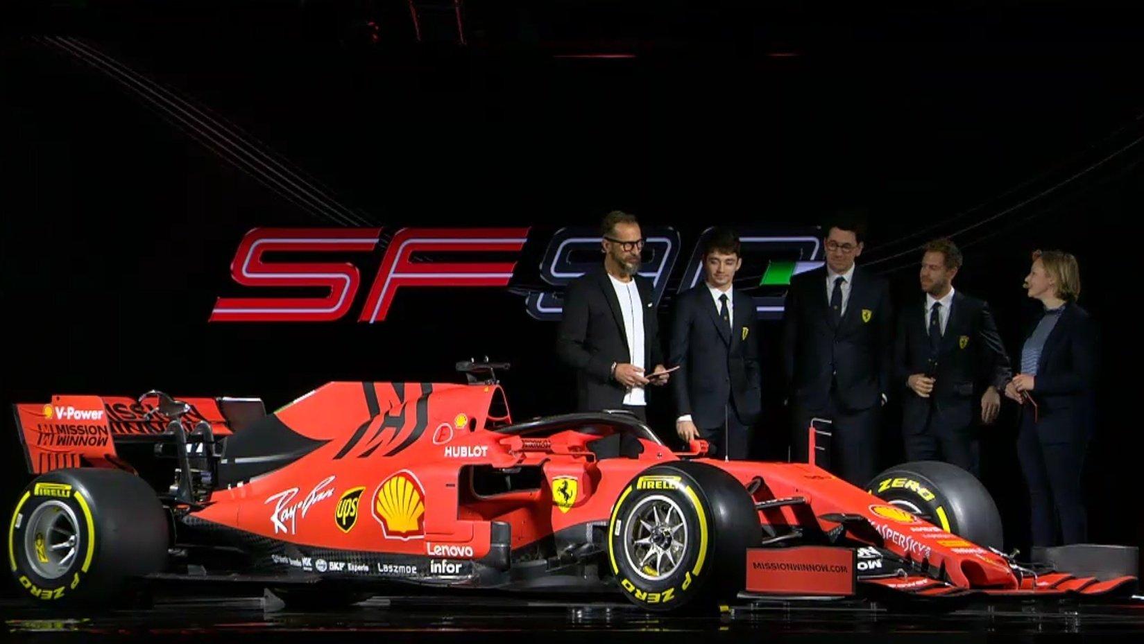 Nuova ferrari 2019 formula 1