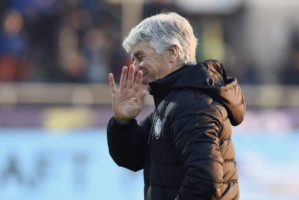 Gasperini, allenatore Atalanta