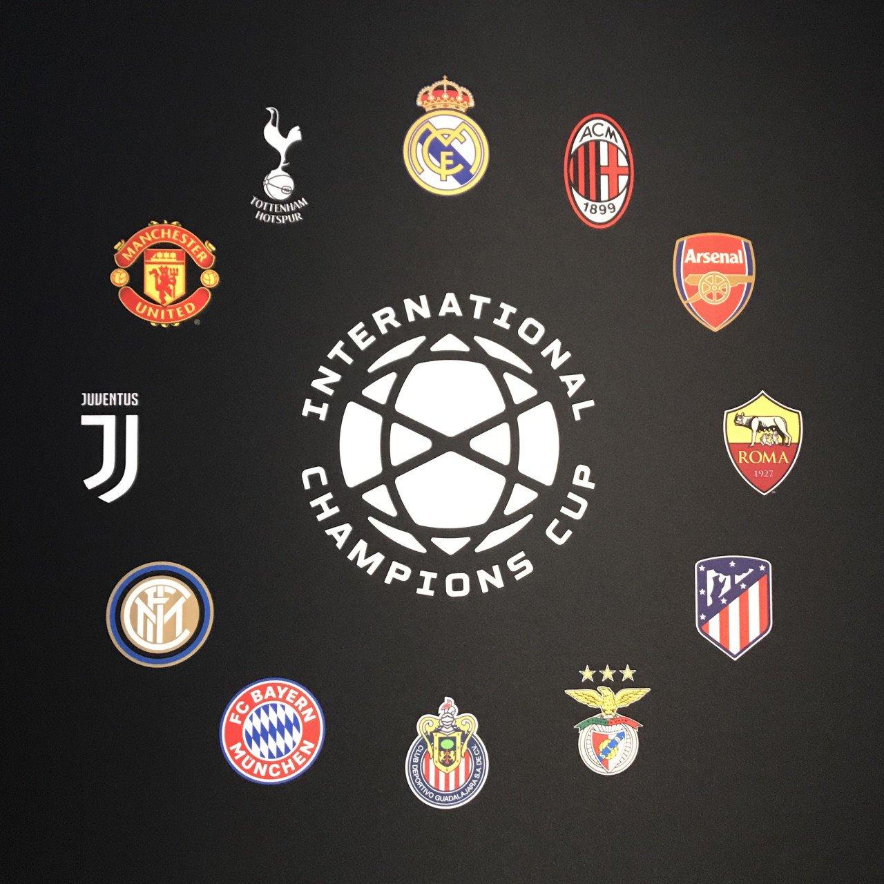 Calendario Icc.Calendario International Champions Cup 2019 Juve Inter
