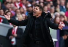 Simeone, allenatore Atletico Madrid