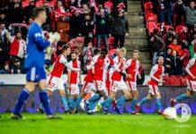 esultanza Slavia Praga
