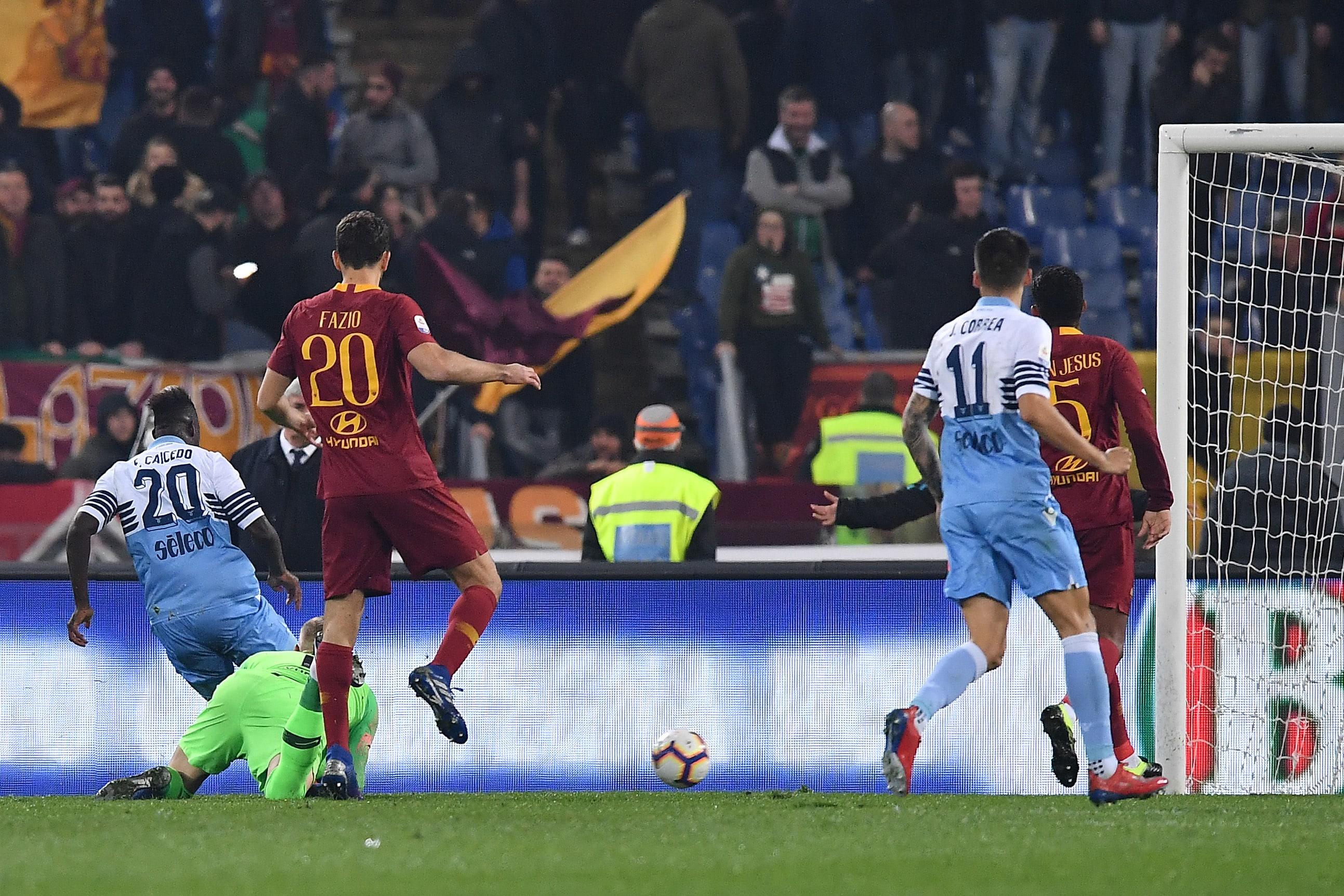 Il derby della Capitale 'incorona' con merito la Lazio