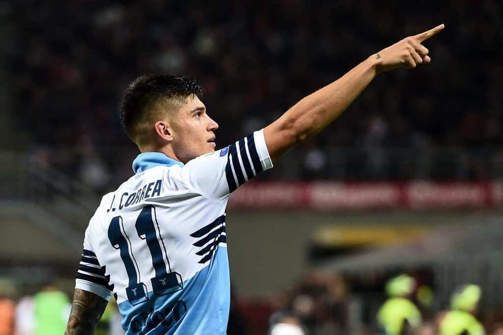 esultanza gol Correa, Lazio