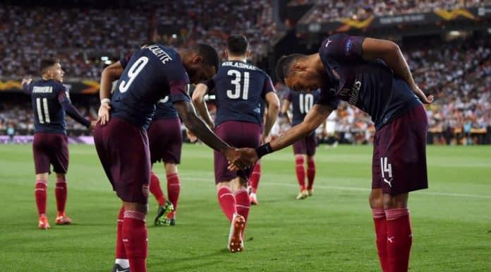 esultanza Arsenal