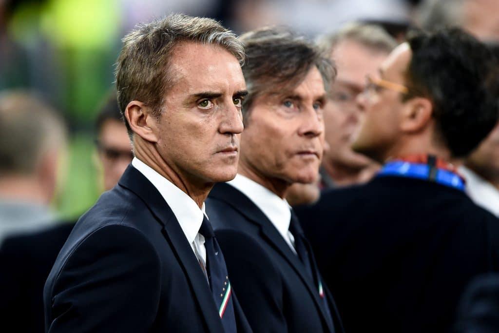 Mancini, allenatore Italia