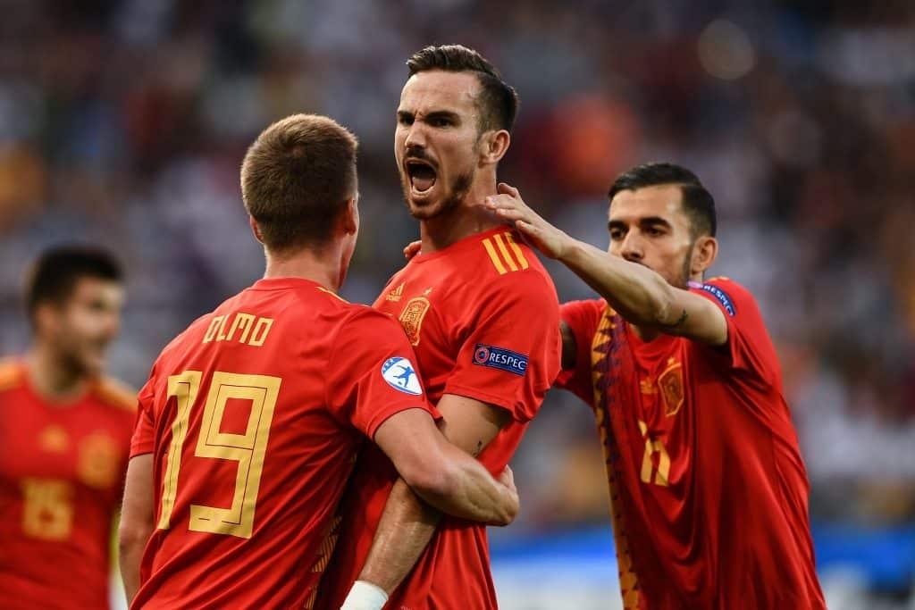 Cole deleita a Fabián Ruiz, final de Europa Sub-21 España-Alemania