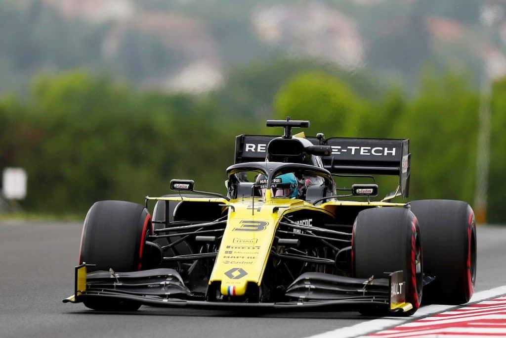 Daniel Ricciardo, Reanult