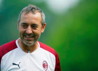 Marco Giampaolo, allenatore Milan