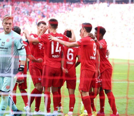 esultanza Perisic, Bayern Monaco