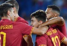 esultanza gol Under, Roma-Genoa