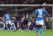 gol Mertens, Fiorentina-Napoli