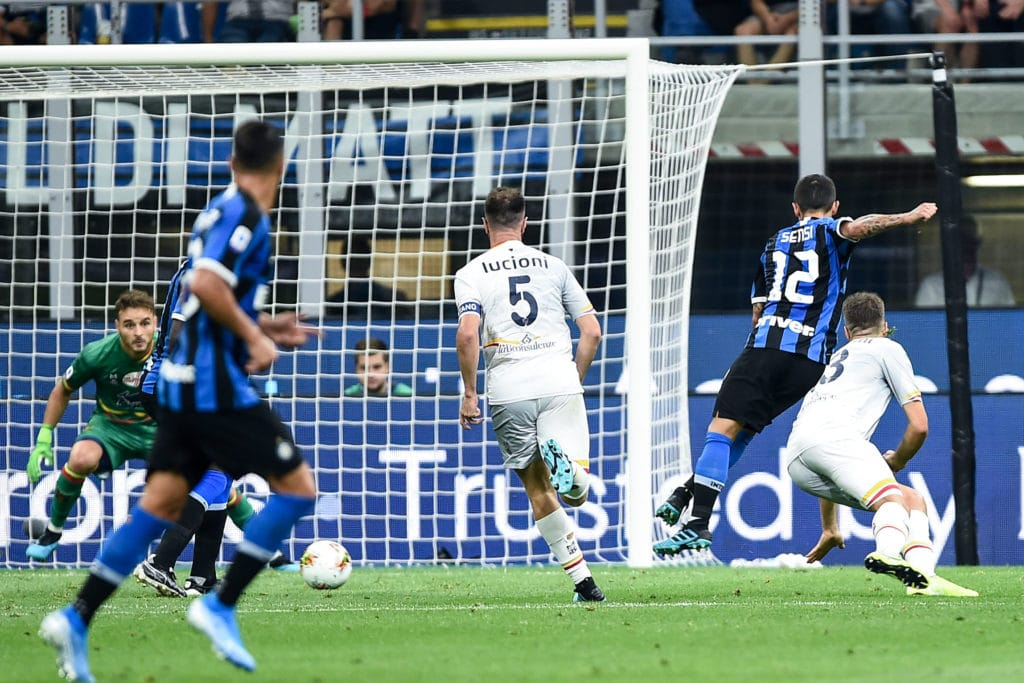 gol Sensi, Inter-Lecce