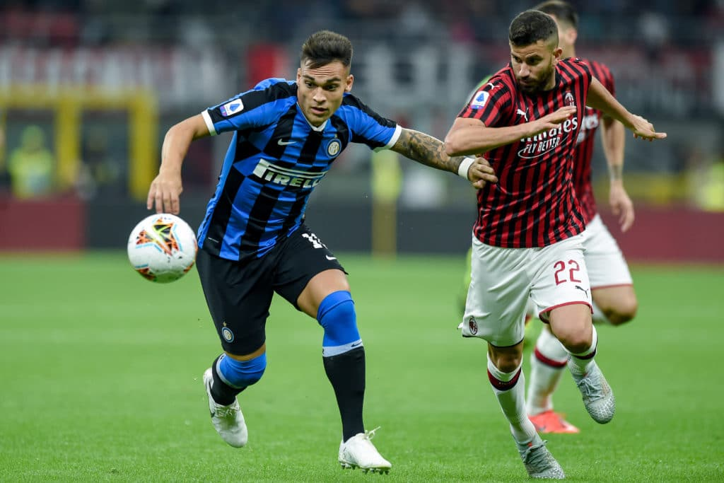 Lautaro-Musacchio, Milan-Inter