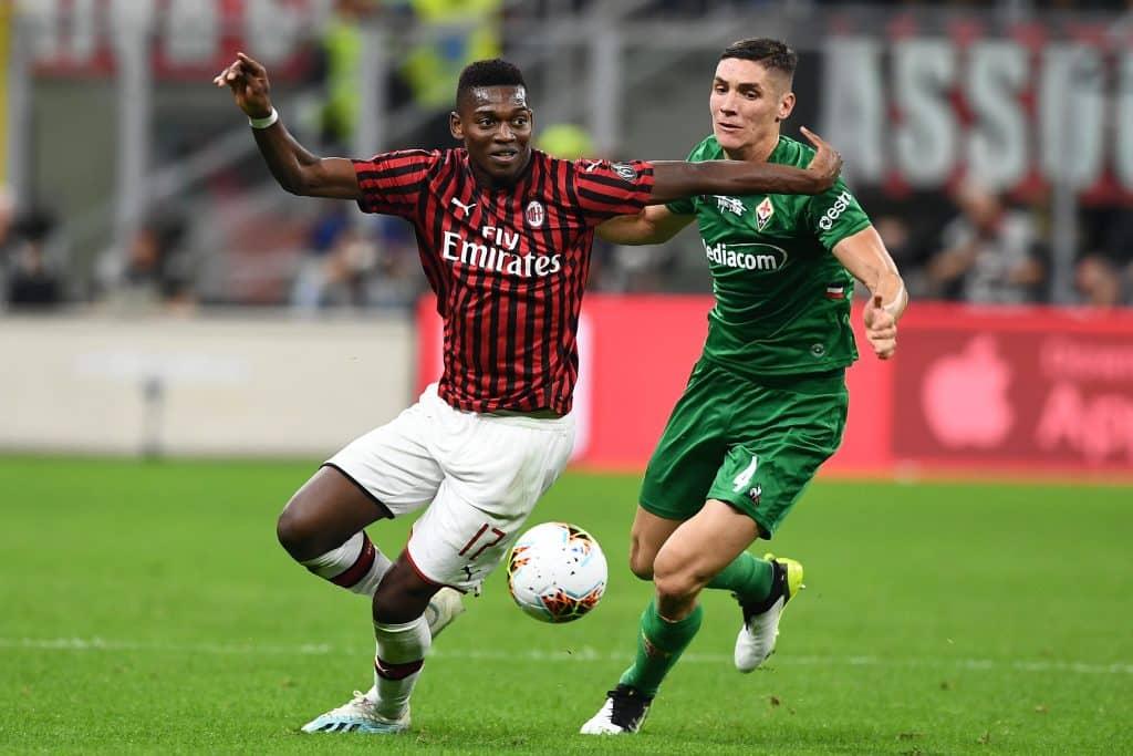 Leao-Milenkovic, Milan-Fiorentina