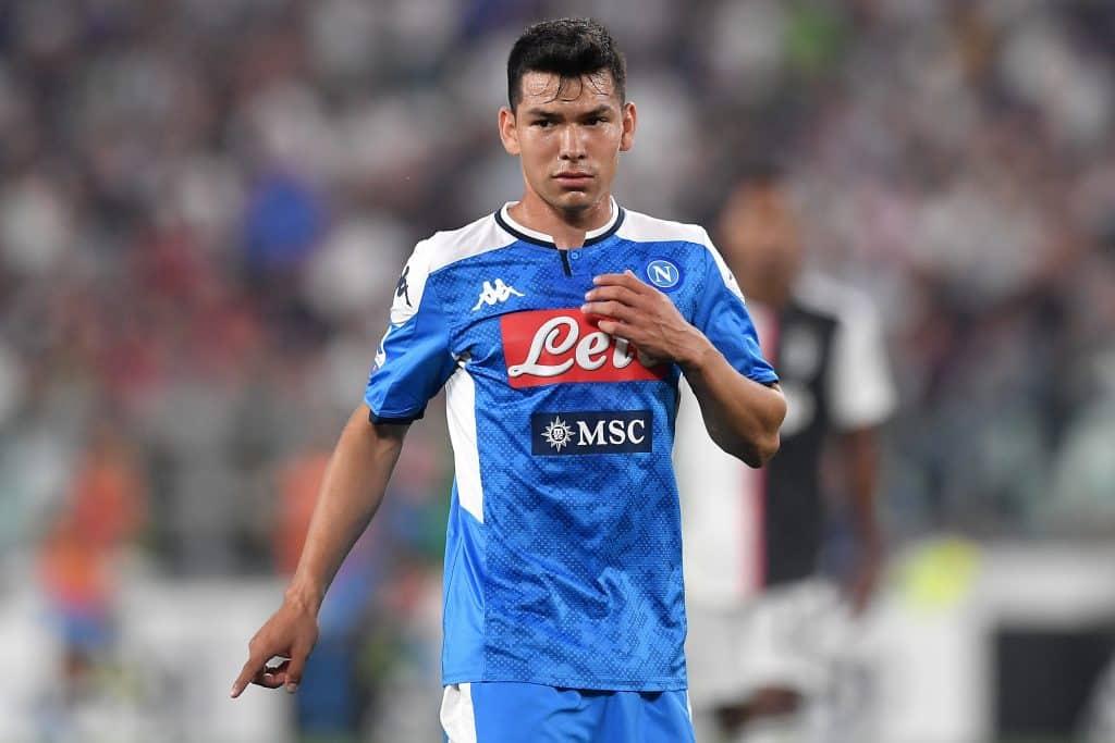 Lozano, attaccante Napoli
