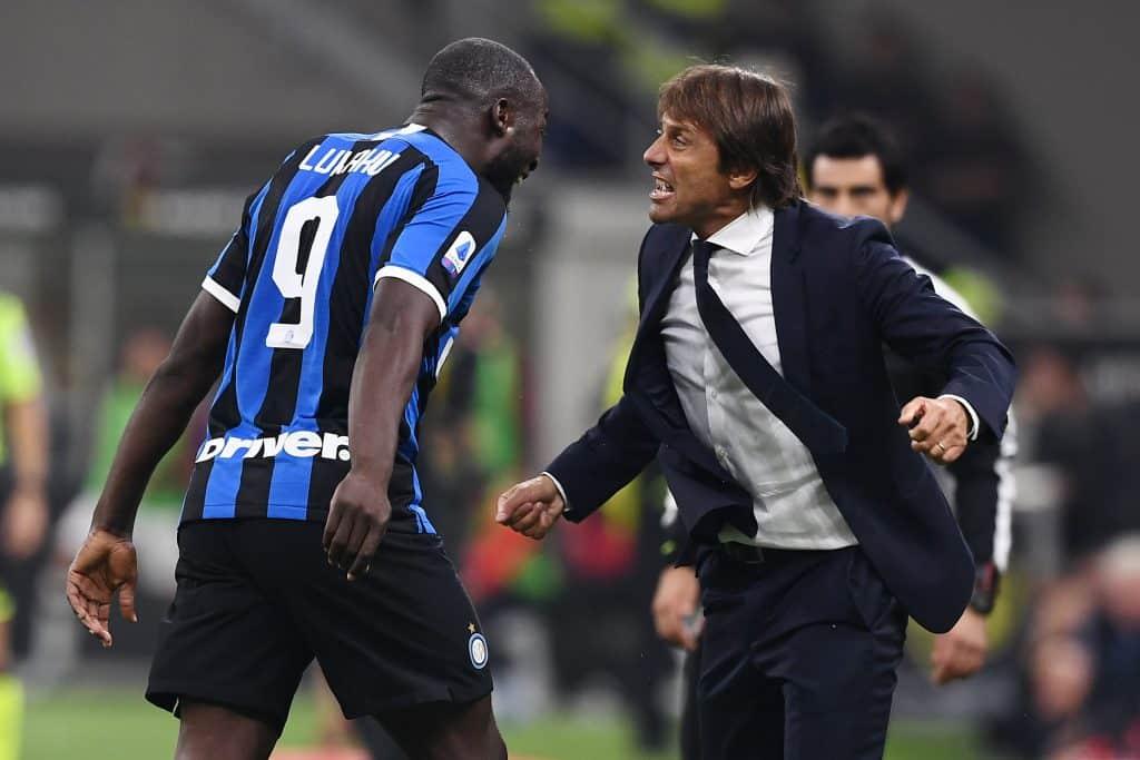Conte e Lukaku, Inter