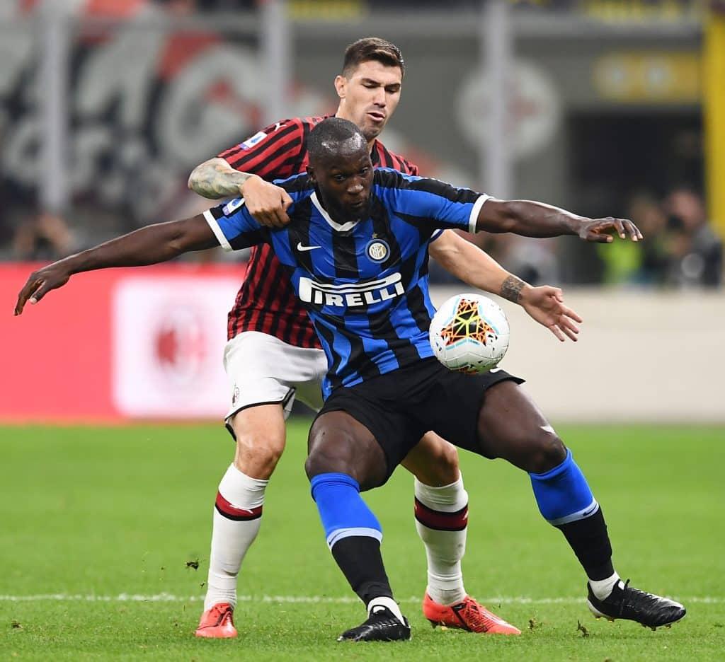 Lukaku-Romagnoli, Milan-Inter