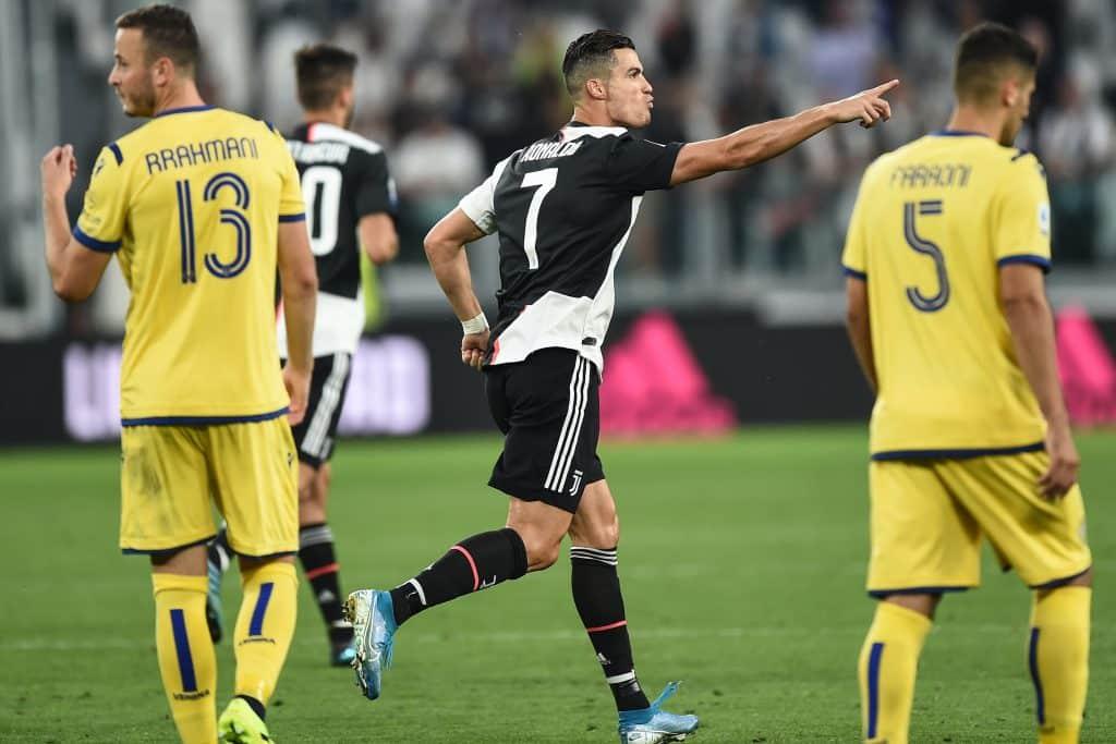 Ronaldo, Juventus-Verona