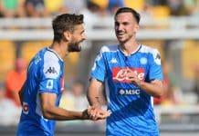 Fabian Ruiz-Fernando Llorente, Lecce-Napoli