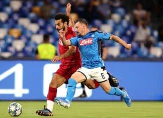 Salah-Mario Rui, Napoli-Liverpool