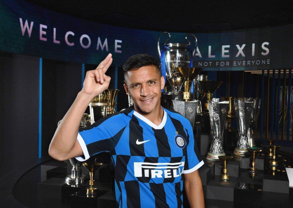 Sanchez Twitter ufficiale Inter