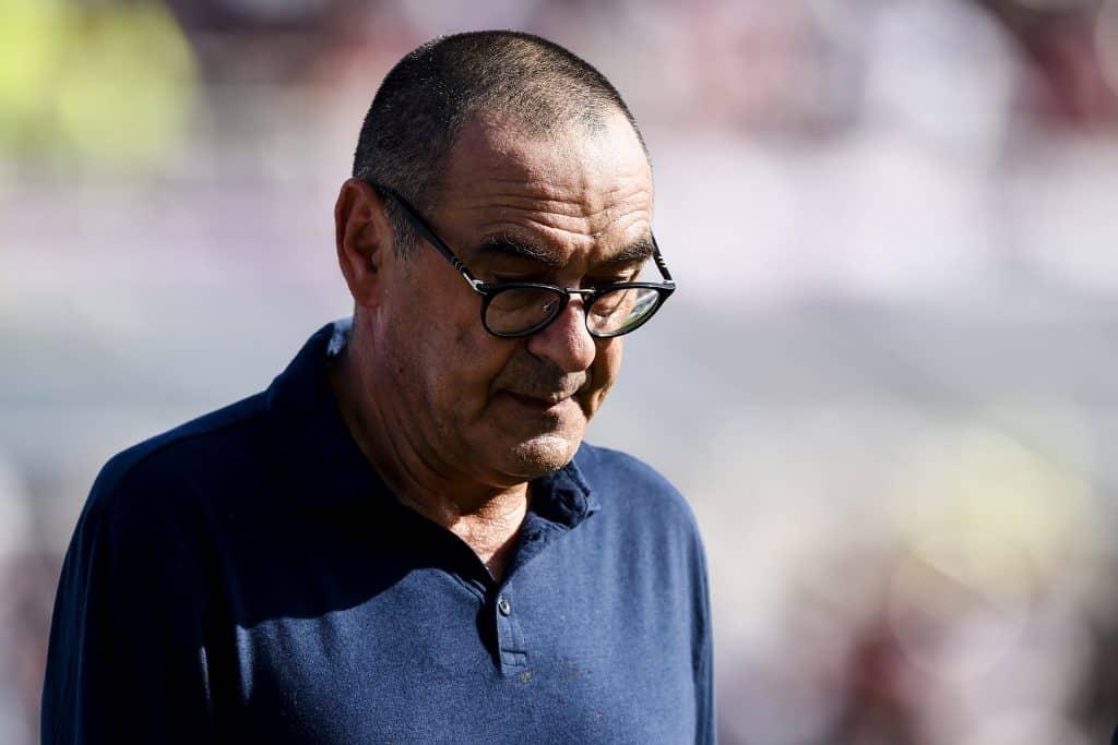 Maurizio Sarri, alenatore Juventus
