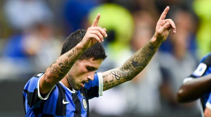 esultanza Sensi, Inter-Udinese