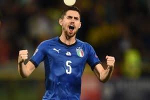 esultanza gol Jorginho, Italia