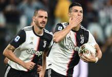 esultanza gol Ronaldo, Juventus-Verona