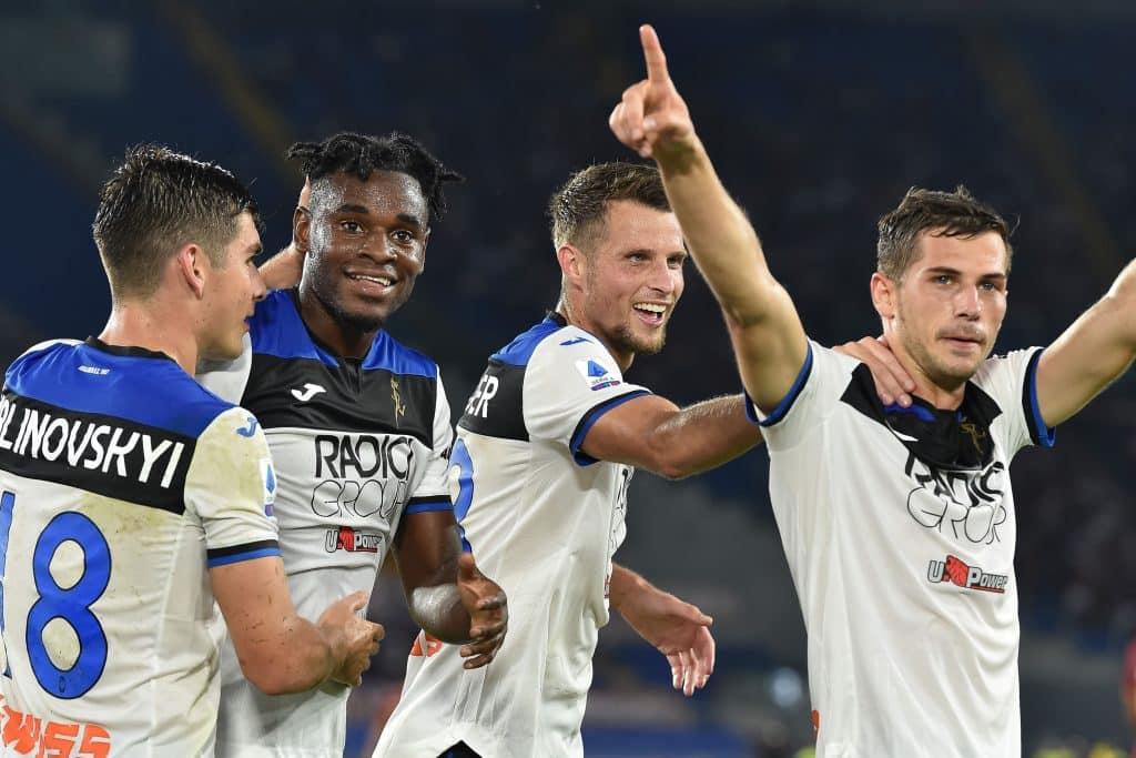 esultanza gol Zapata, Roma-Atalanta