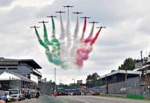 frecce tricolori, Gp Monza Formula 1